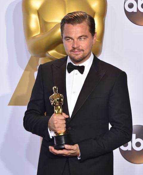 Leonardo DiCaprio at Oscars 2016