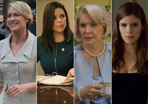 Does House Of Cards Have The Most Powerful Female Cast Ever On Tv