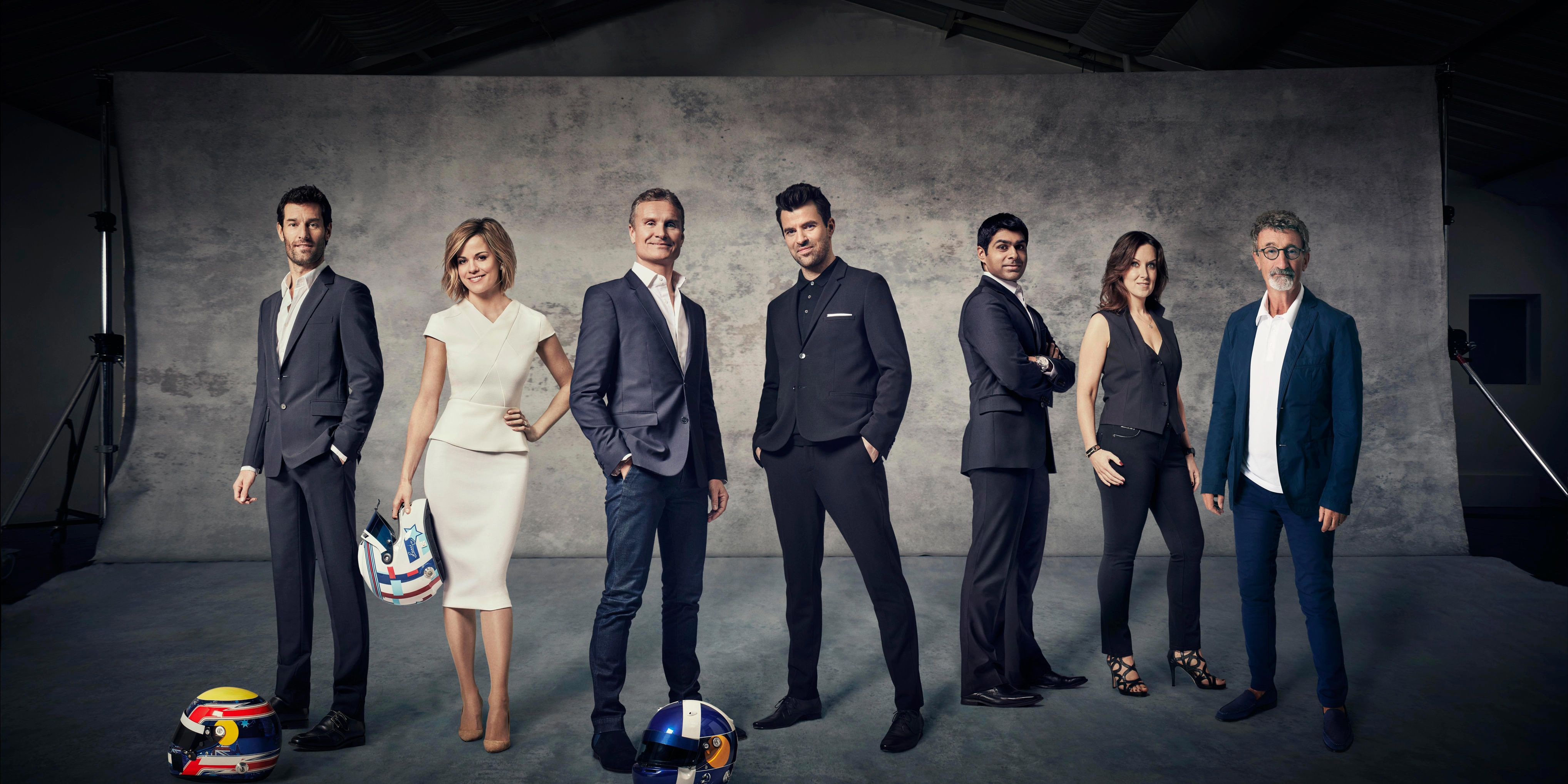 Channel 4 F1 team
