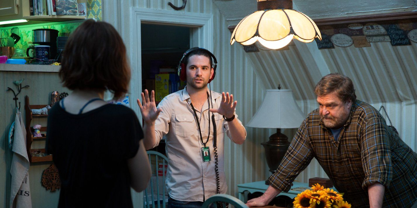 Director Dan Trachtenberg onset 10 Cloverfield Lane