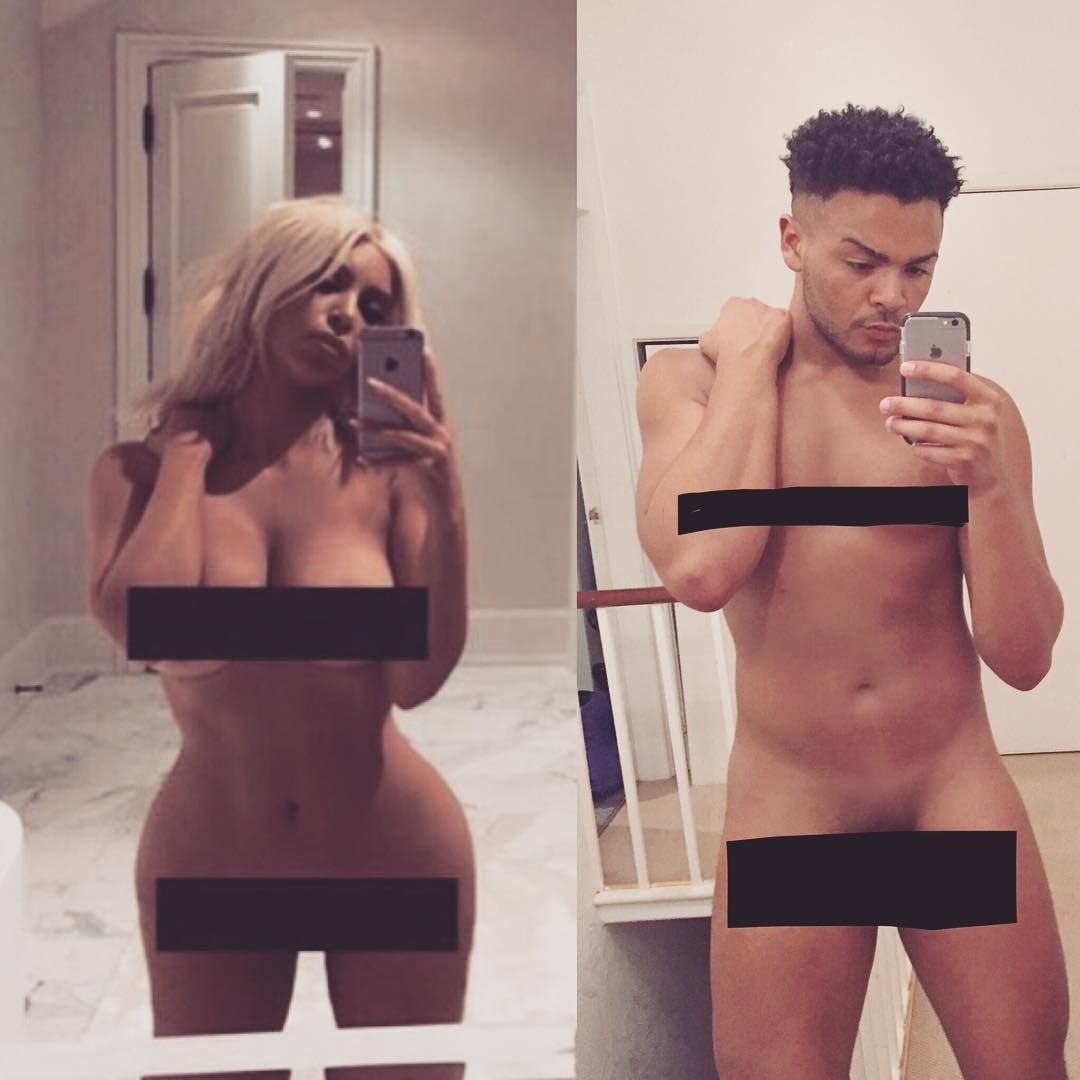 Geordie Shore Naked Pictures geordie shore's nathan is the latest celeb to do the kim k