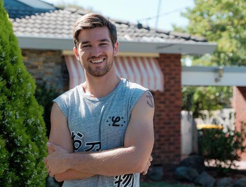 Ben Hall as Ned Willis in Neighbours