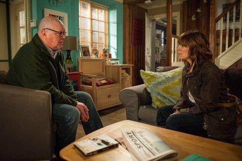 Paddy and Rhona talk