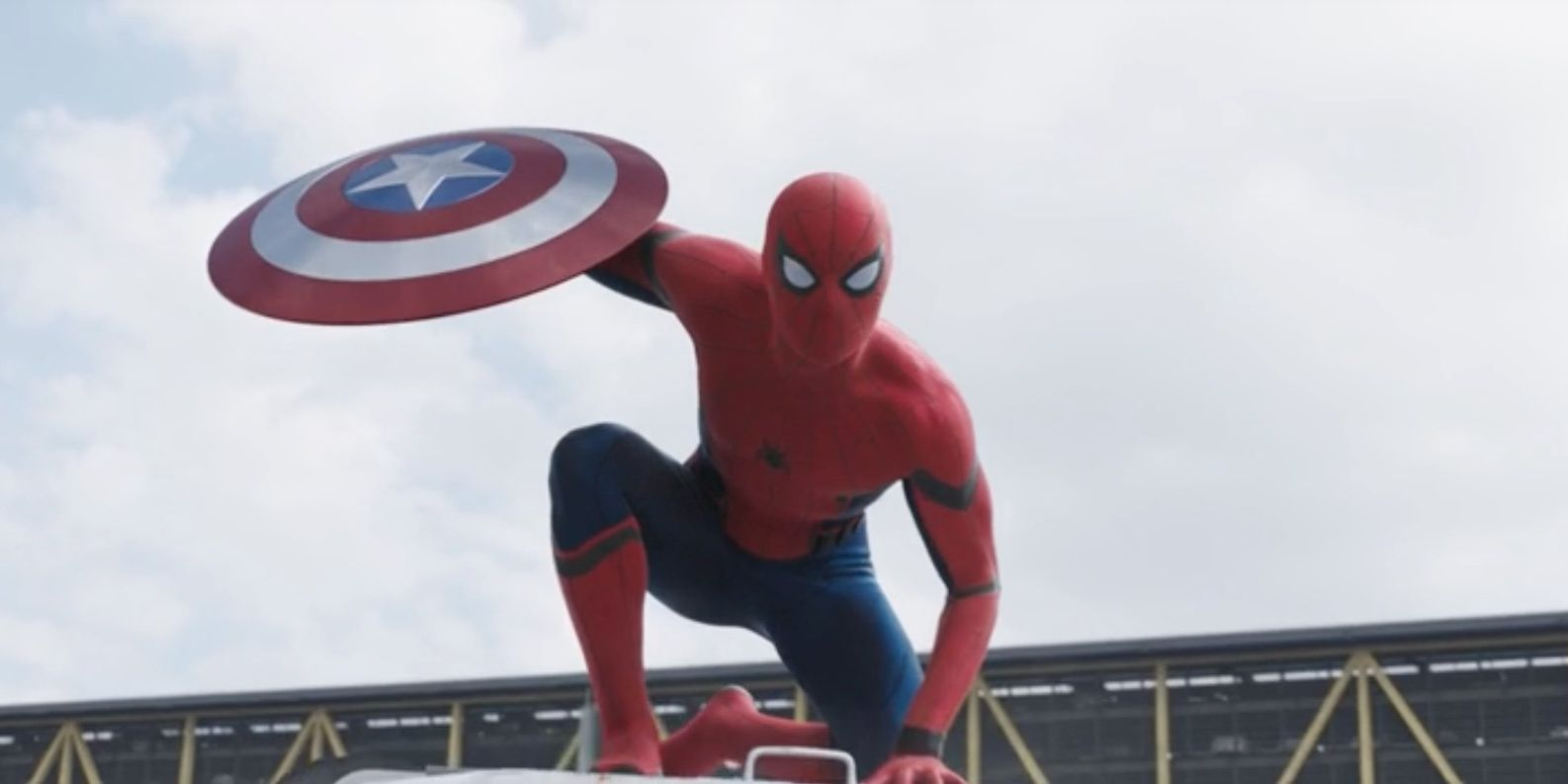 Spider-Man in Captain America: Civil War trailer