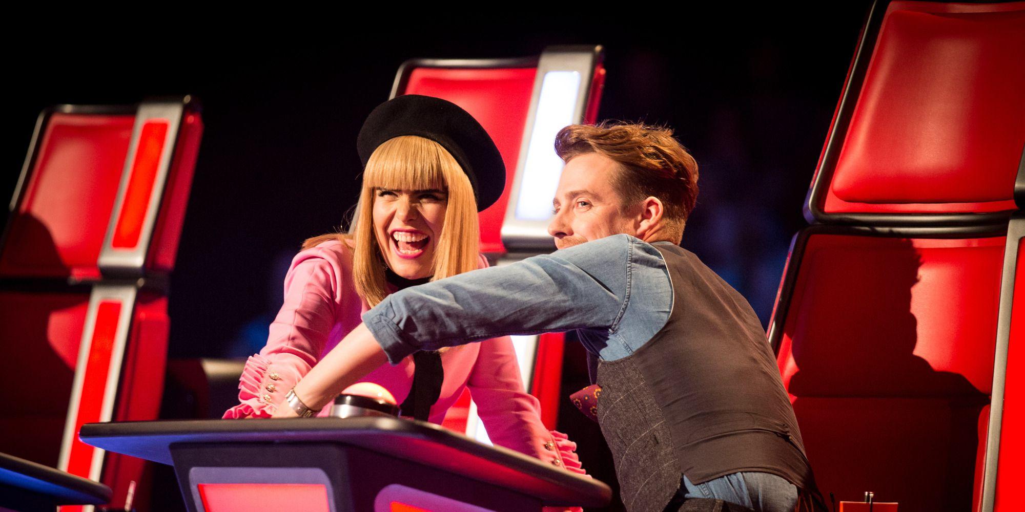 Paloma Faith and Ricky Wilson on The Voice UK