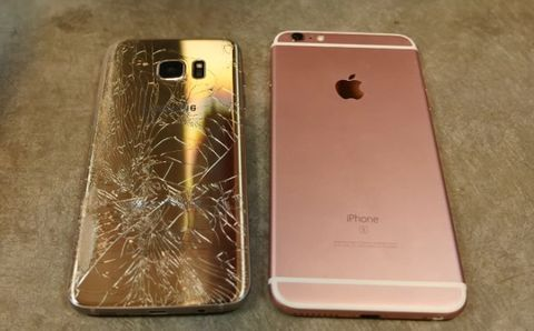 Watch the Samsung Galaxy S7 take on the iPhone 6S Plus in