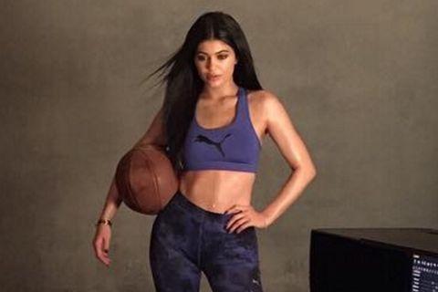 plus récent 2e01c 4c850 Kylie Jenner looks ready to roar in her fierce new Puma ...