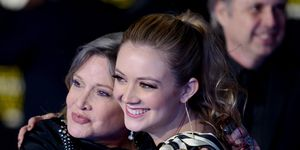 Carrie Fisher and Billie Lourd, December 2015