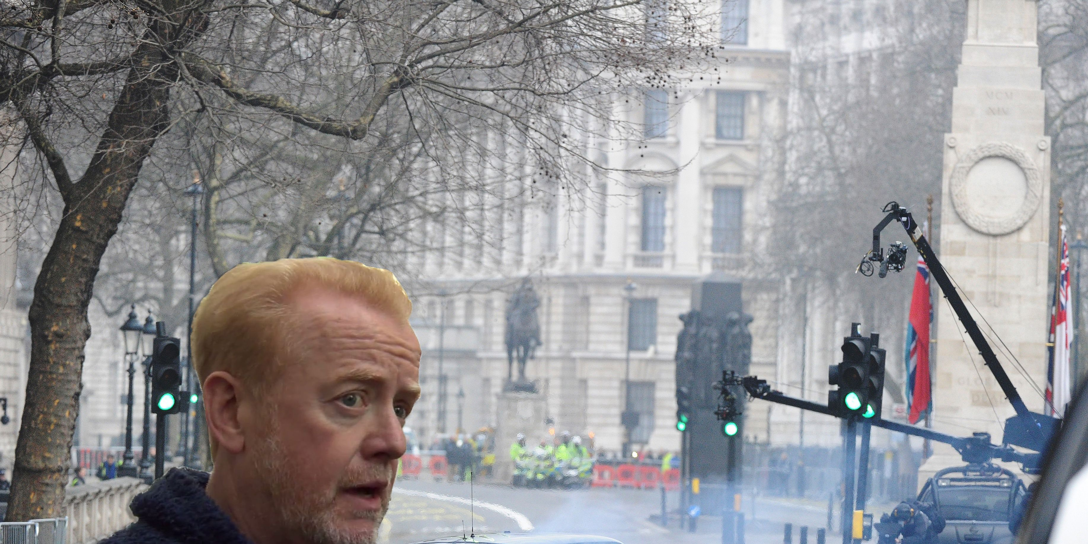 Chris Evans, Top Gear Cenotaph racing