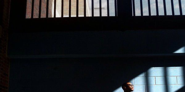 Reggie Yates filming in Texas jail