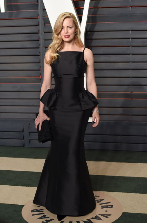 Melissa George attends the 2016 Vanity Fair Oscar Party