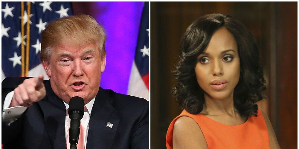 Donald Trump / Olivia Pope on Scandal