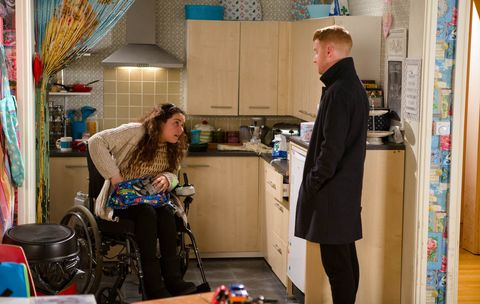 Gary gets Izzy more drugs to help with her pain