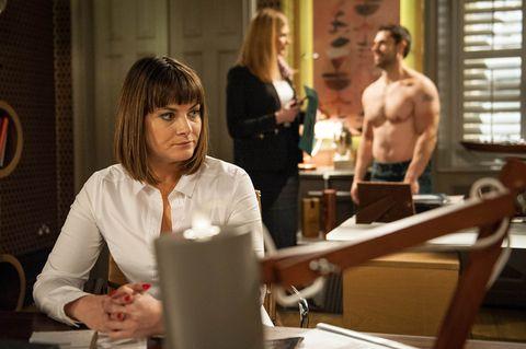 Chrissie is mortified when Bernice arrives