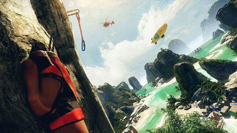 The Climb Crytek Oculus Rift