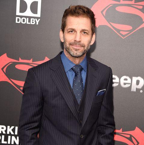 zack snyder at the batman v superman dawn of justice premiere