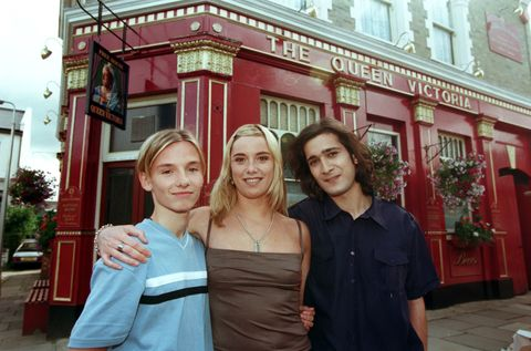 tamzin outhwaite, jimi mistry and jack ryder in eastenders