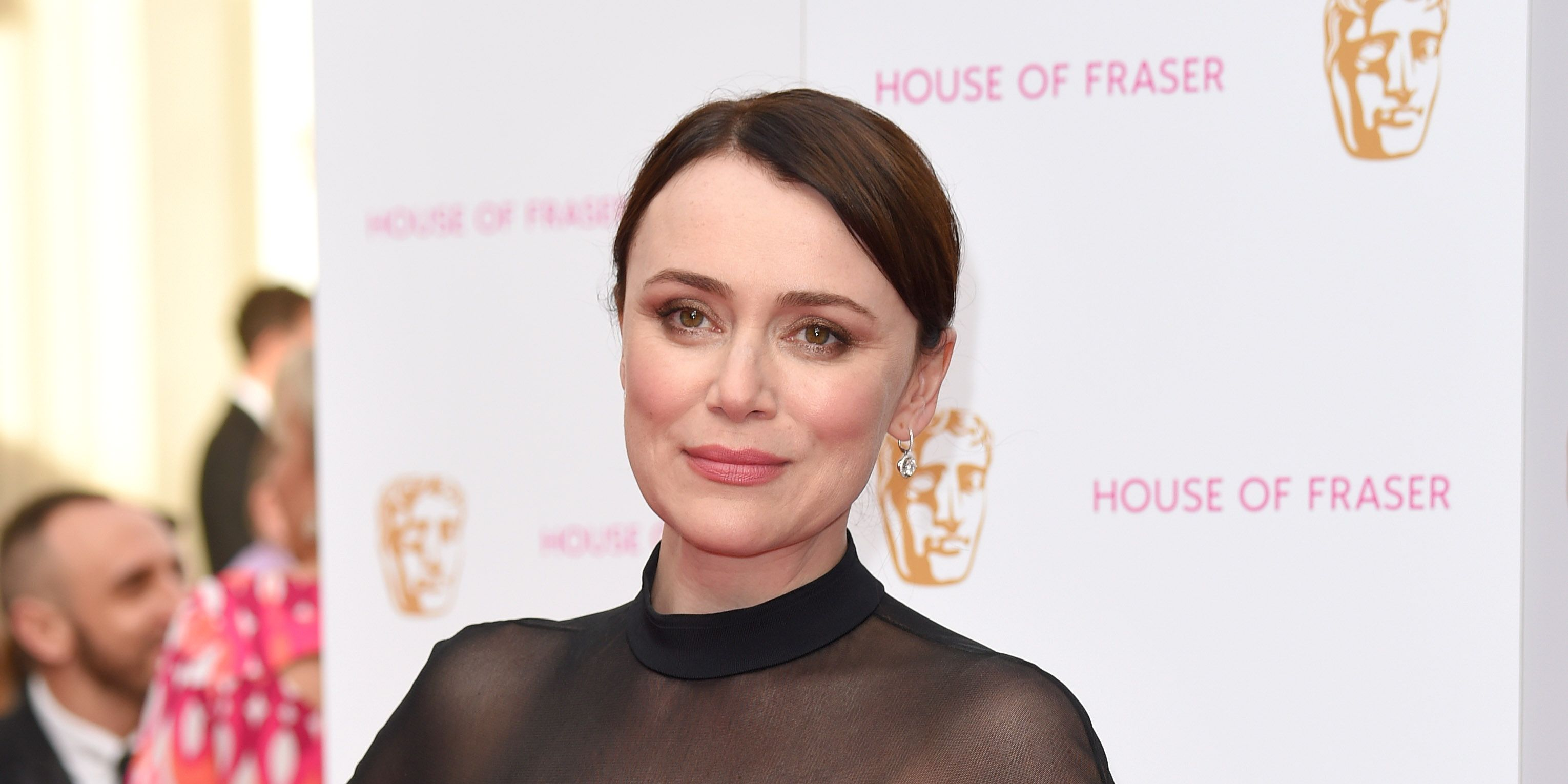 Keeley Hawes attends the House of Fraser British Academy Television Awards