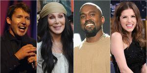 Best celebrity tweeters: James Blunt, Cher, Kanye West, Anna Kendrick