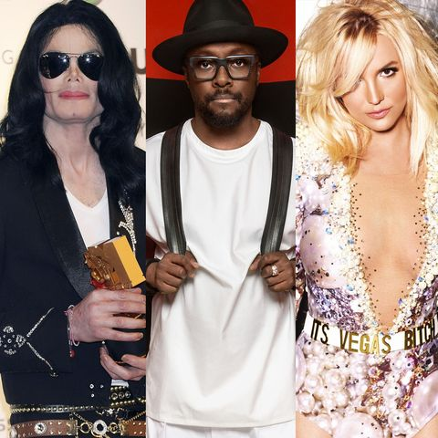 Michael Jackson / will.i.am / Britney Spears banner