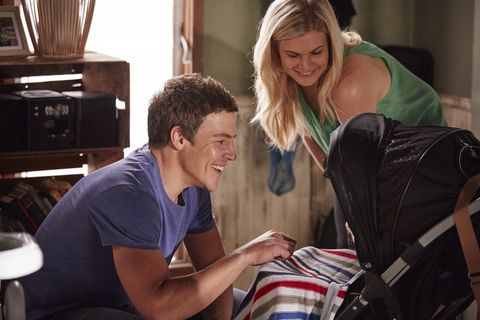 Brax visits Ricky and is happy to see his son again.