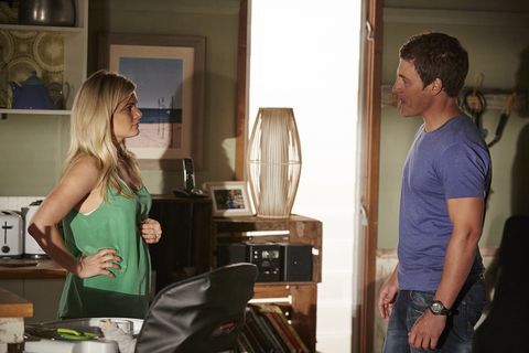 Ricky tries to keep Brax and Nate apart.