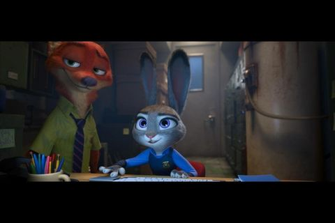 Zootropolis (Zootopia): Nick Wilde (Jason Bateman) and Judy Hopps (Ginnifer Goodwin)