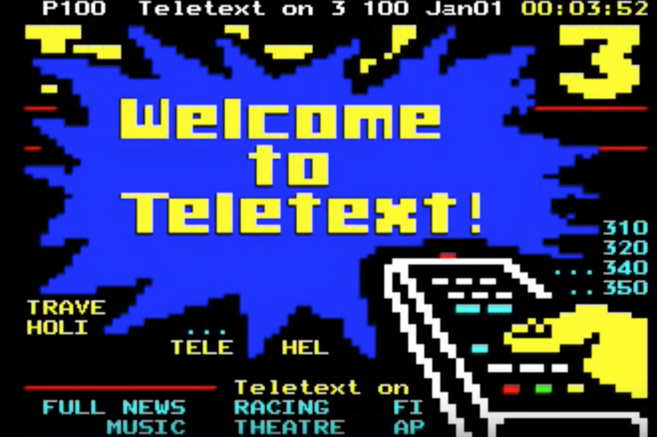 Ceefax, Teletext: The best bits of the pre-internet gems