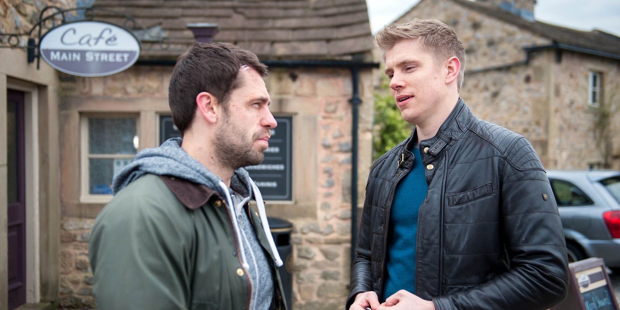 Robert is horrified to learn that Andy has been seeing Chrissie
