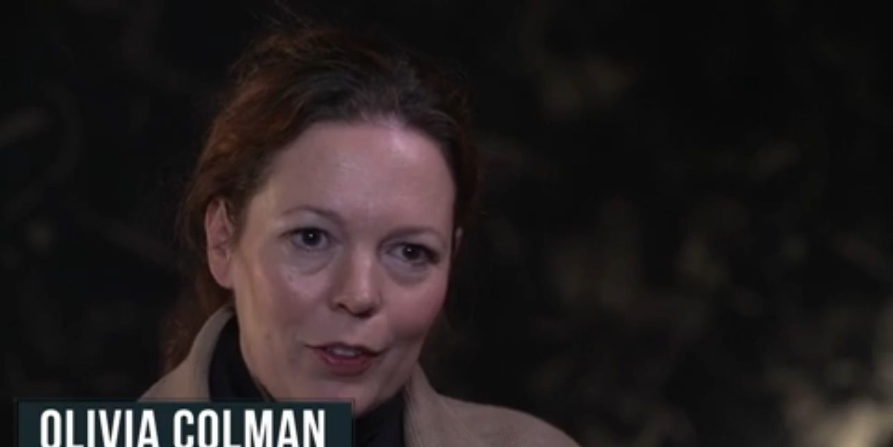 Olivia Colman in The Night Manager behind-the-scenes clip