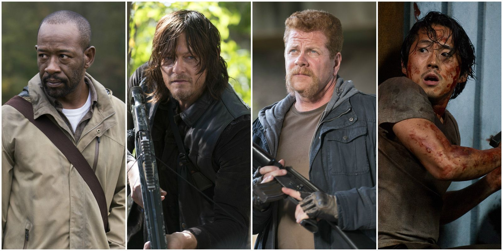 The Walking Dead: Morgan / Daryl / Abraham / Glenn