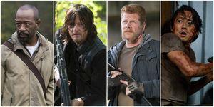 The Walking Dead: Morgan / Daryl / Abraham / Glenn