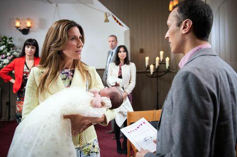 Jai arrives at the christening
