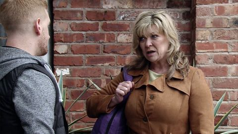 Erica warns Gary not to jeopardise his job.