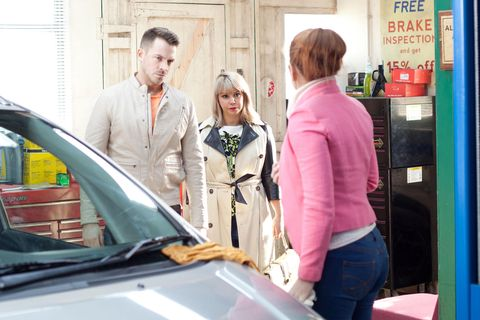 <p>Maxine worries that someone was listening to her and Darren. </p>