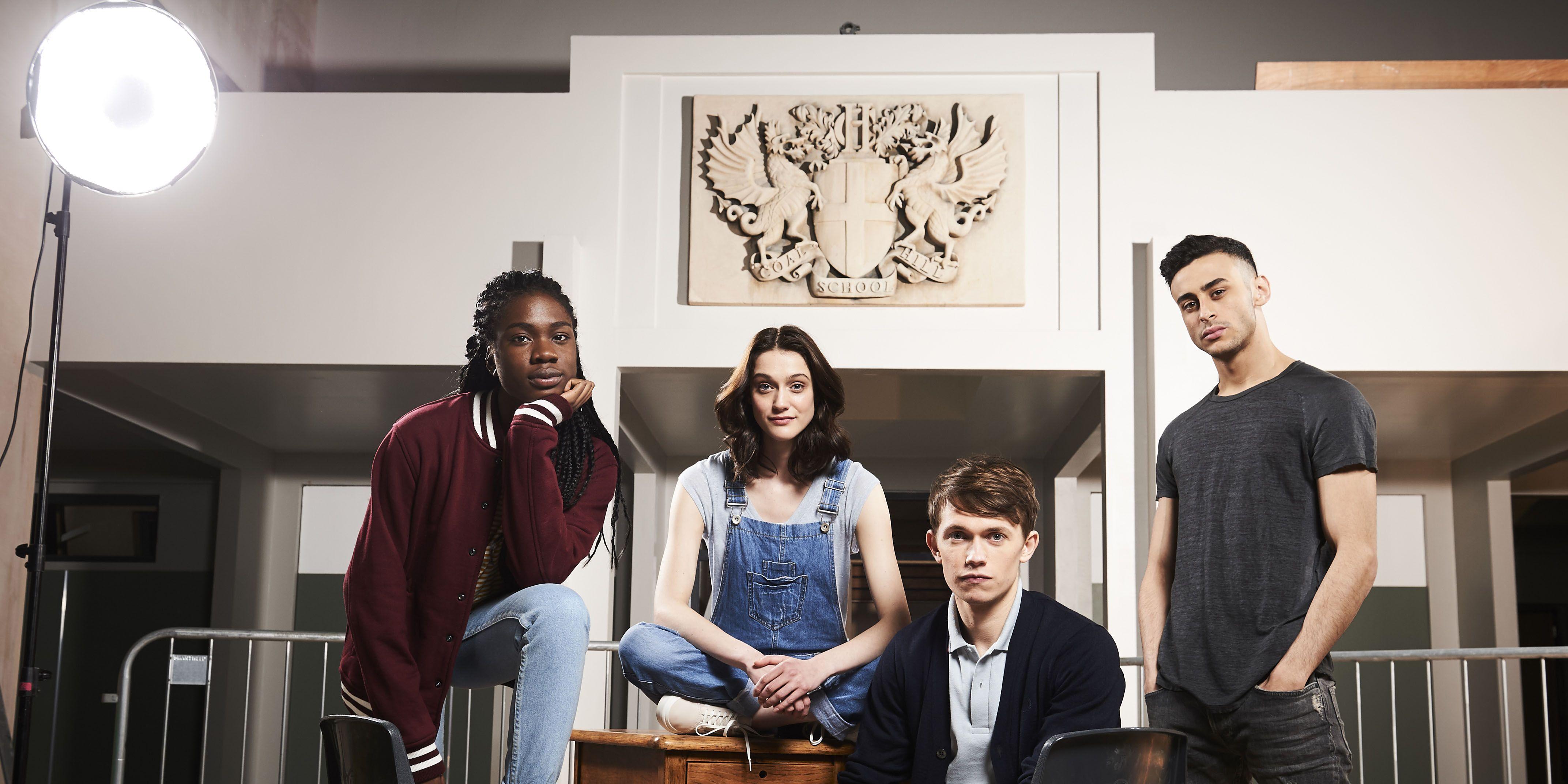 The cast of BBC Three's Class