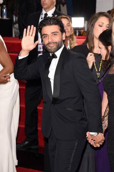 Oscar Isaac, Golden Globes, January 2016
