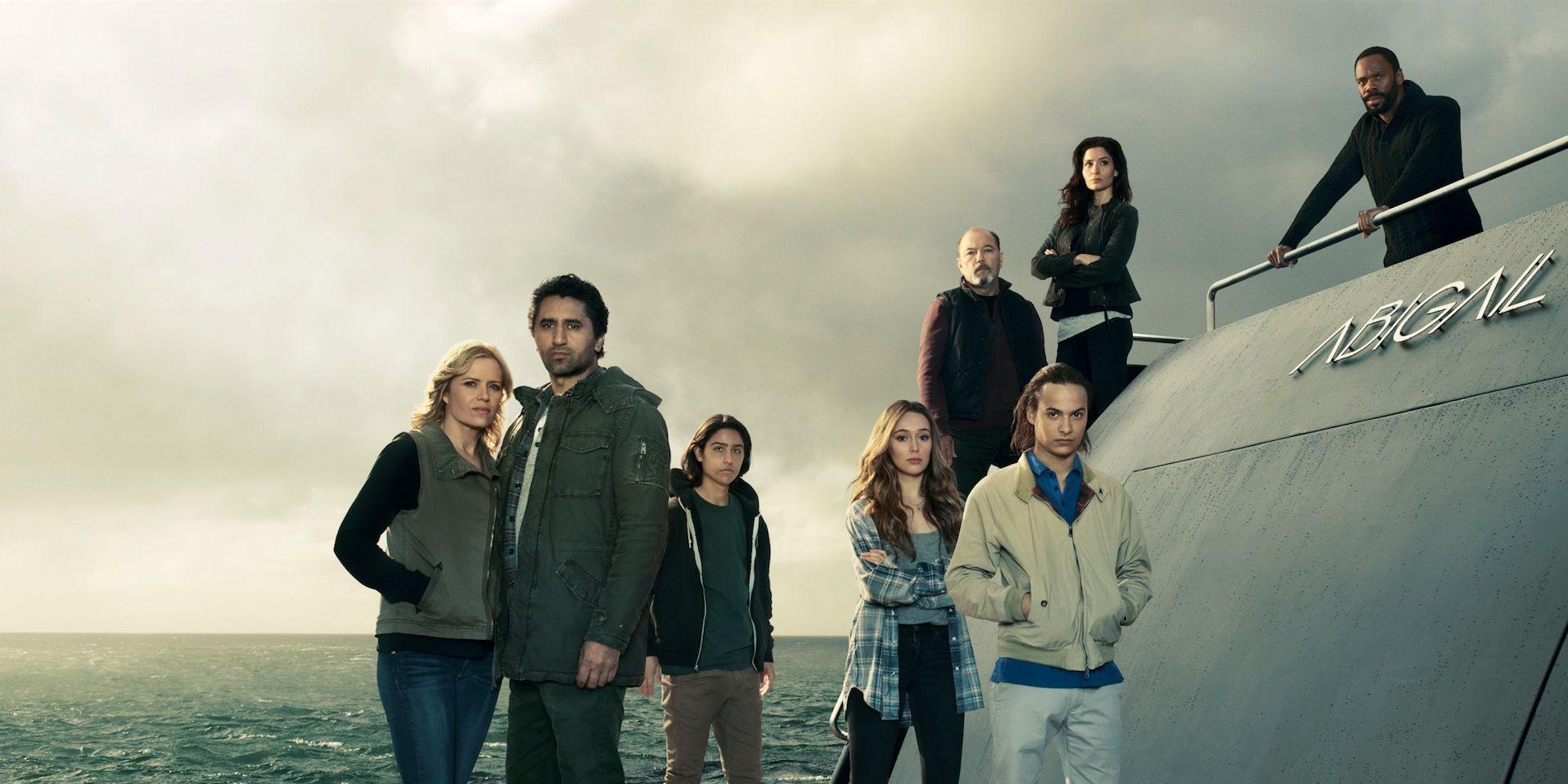 Fear the Walking Dead season 2 cast