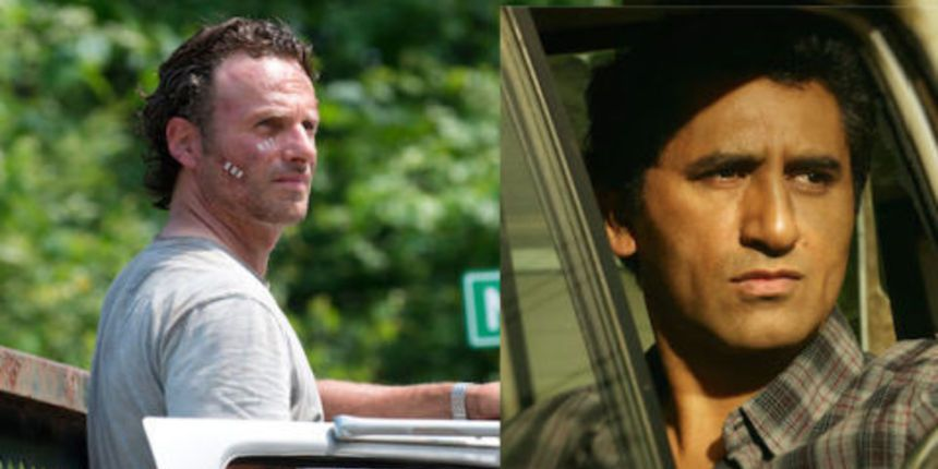 Rick Grimes from The Walking Dead and Travis Manawa from Fear the Walking Dead