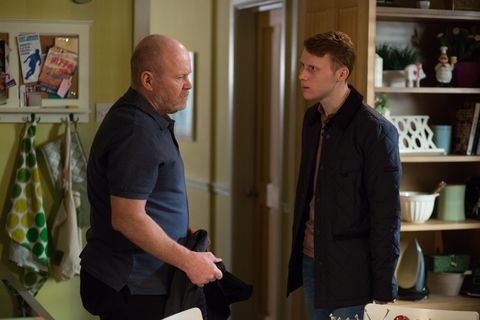 Jay tells Phil to man up and offers to drive him to the hospital.
