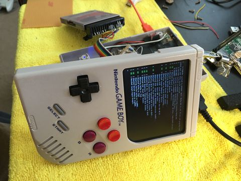 How to make a Game Boy out of a Raspberry Pi Zero