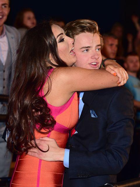 Celebrity Big Brother star Nicola McLean displays her