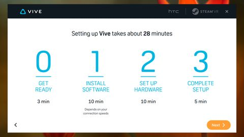 How to set up the HTC Vive