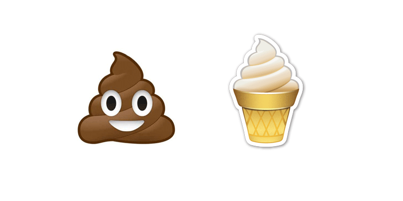 Is This A Poop Or An Ice Cream Emoji One Of Lifes Big Questions