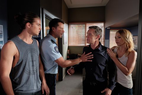 Paul is furious as Tyler for implicating him in the Lassiter's explosion.
