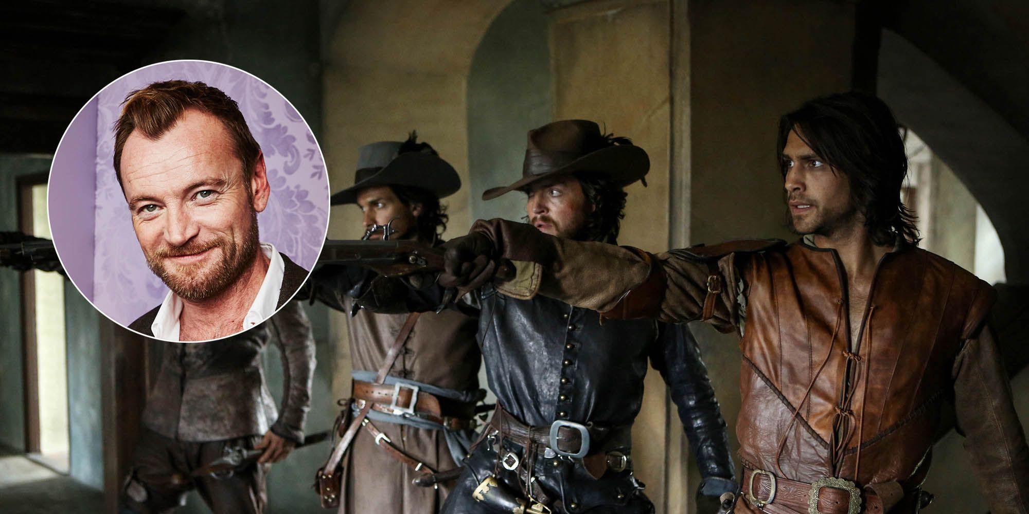 PHOTOSHOP: Richard Dormer joins The Musketeers