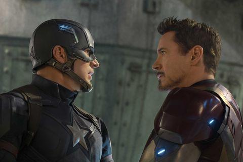 Captain America: Civil War, Chris Evans, Robert Downey Jr.