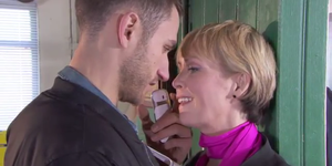 Freddie Roscoe and Marnie Nightingale in Hollyoaks