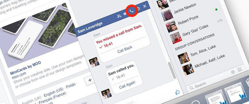How to call someone on Facebook without even knowing their