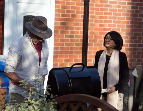 Yasmeen orders Sharif into the kitchen